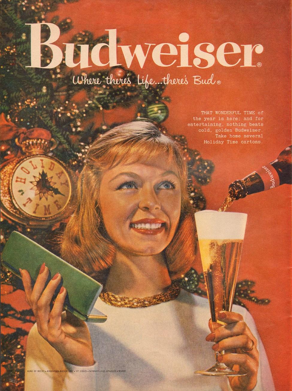 BUDWEISER BEER LIFE 12/08/1958 p. 114