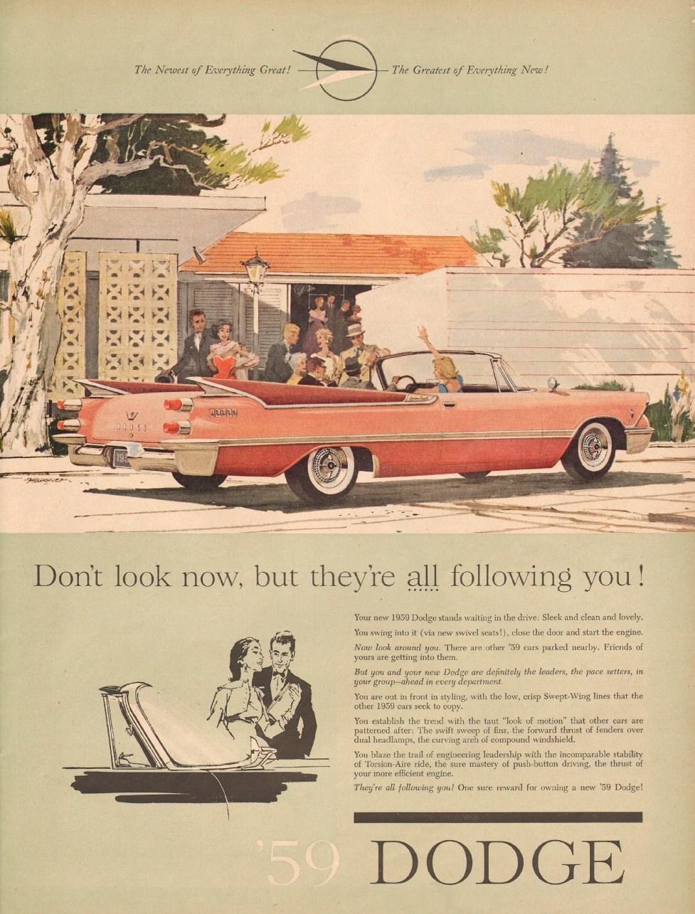 DODGE AUTOMOBILES LIFE 12/08/1958 p. 65