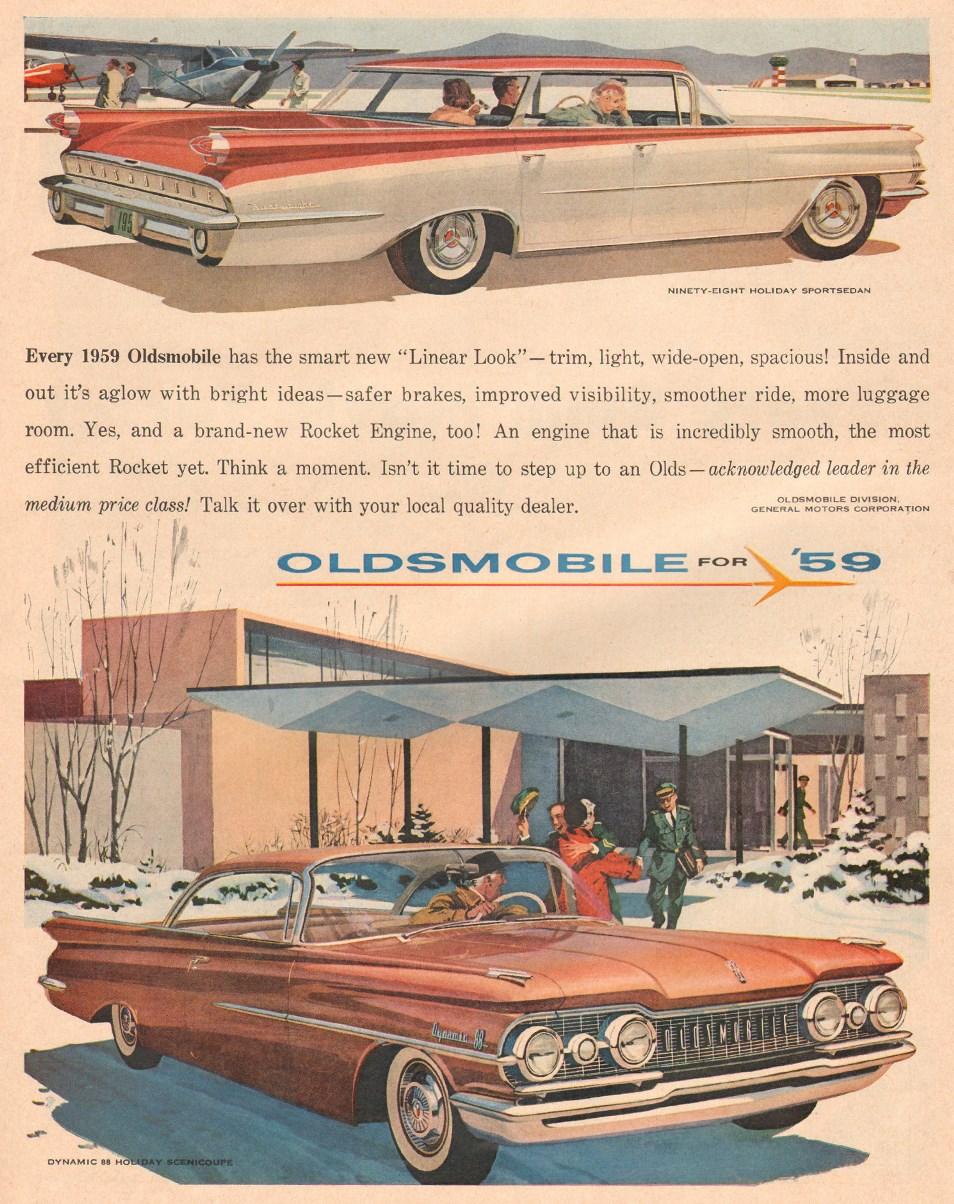OLDSMOBILE AUTOMOBILES LIFE 12/08/1958 p. 18