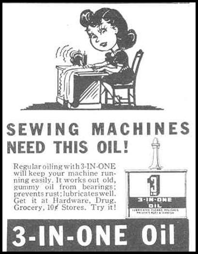 3-IN-ONE OIL GOOD HOUSEKEEPING 03/01/1940 p. 197
