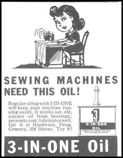 3-IN-ONE OIL GOOD HOUSEKEEPING 03/01/1940 p. 197
