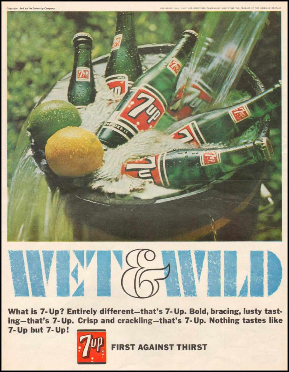 SEVEN-UP SATURDAY EVENING POST 11/04/1966