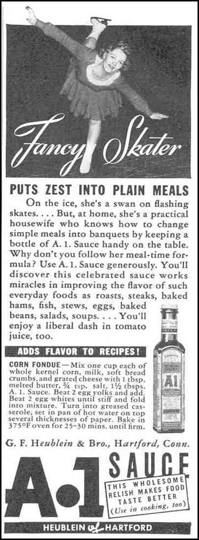 A. 1. SAUCE GOOD HOUSEKEEPING 03/01/1940 p. 192