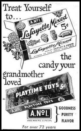 LAFAYETTE MIXED CANDY LIFE 10/27/1947 p. 140