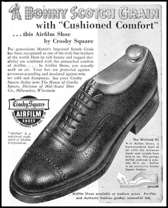 CROSBY SQUARE AIRFILM SHOES LIFE 10/27/1947 p. 100
