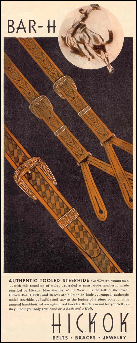 BAR-H BELTS AND BRACES LIFE 03/18/1940 p. 52