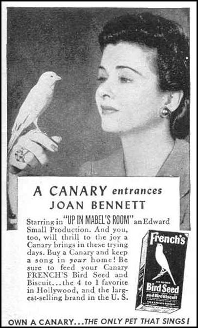 FRENCH'S BIRD SEED LIFE 12/20/1943 p. 123