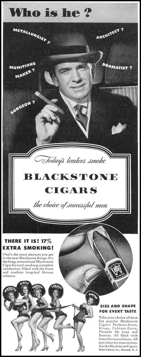 BLACKSTONE CIGARS LIFE 12/20/1943 p. 123