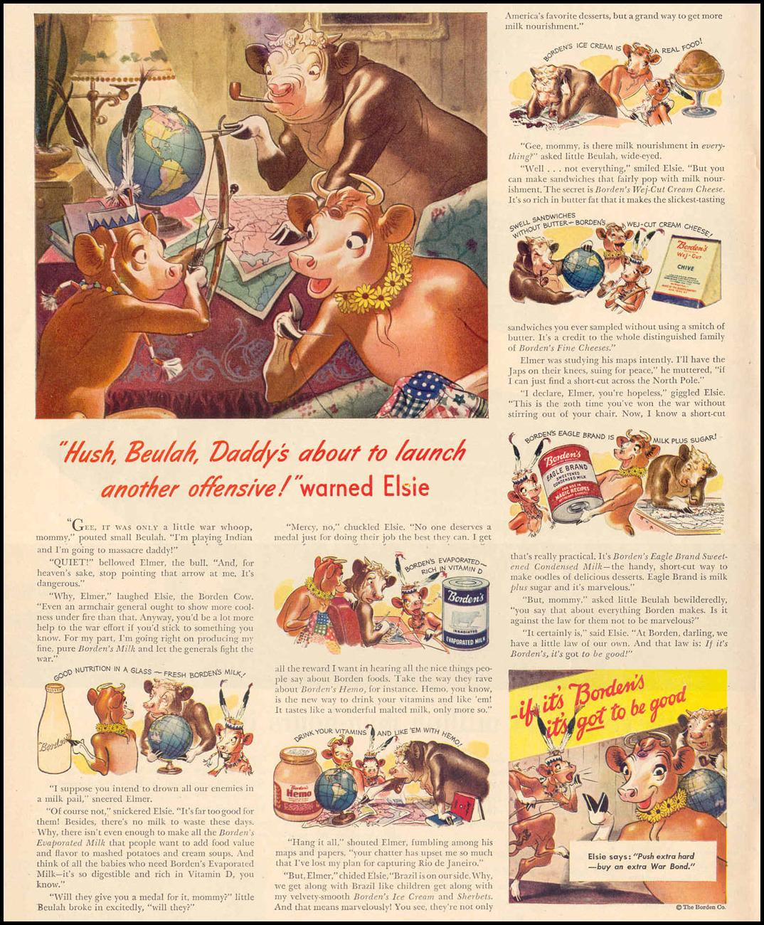 BORDEN DAIRY PRODUCTS LIFE 02/14/1944 p. 6