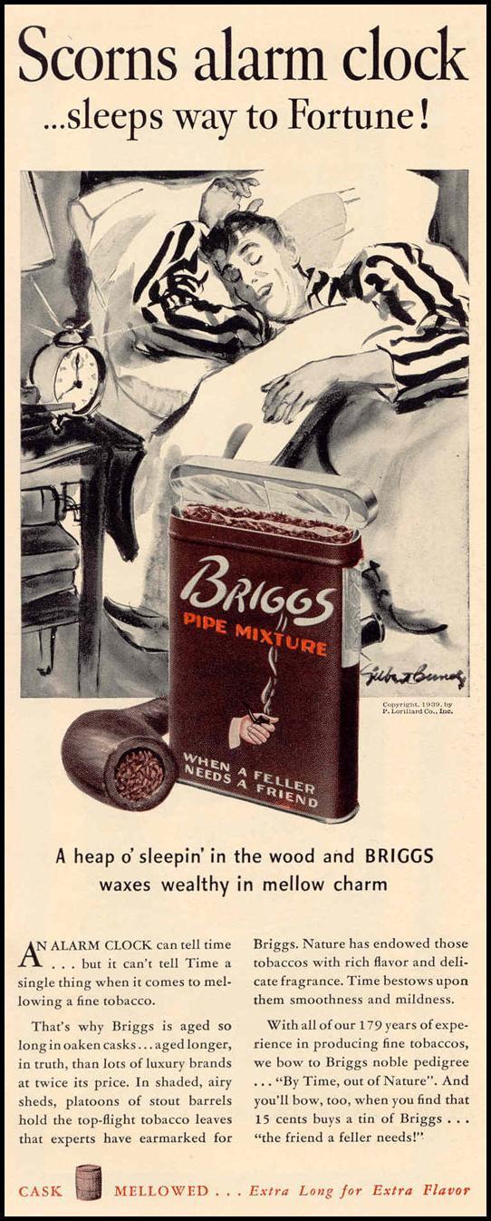 BRIGGS PIPE MIXTURE LIFE 02/20/1939 p. 40