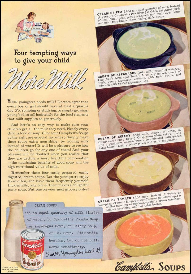 CAMPBELL'S SOUPS GOOD HOUSEKEEPING 03/01/1940 p. 86