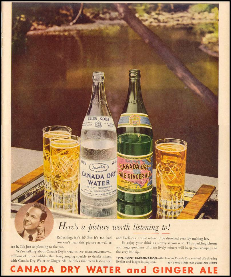 CLUB SODA AND GINGER ALE LIFE 12/20/1943 p. 109