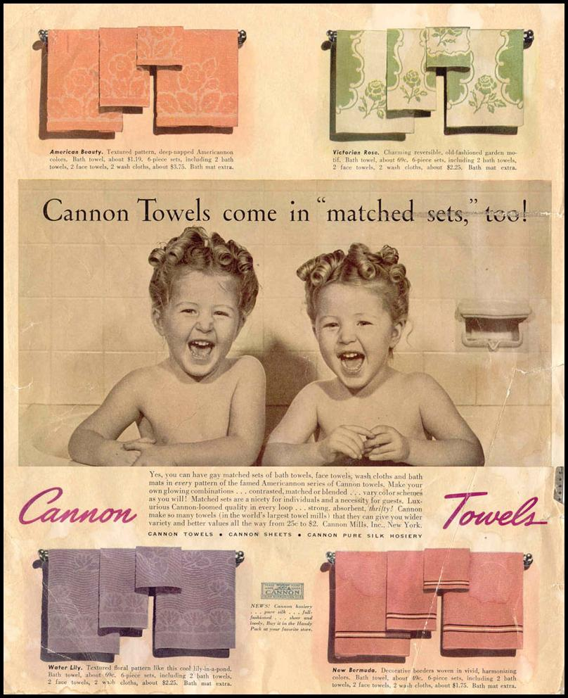 CANNON TOWELS LIFE 03/18/1940