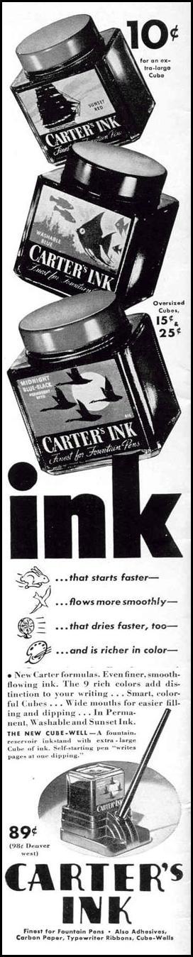 CARTER'S INK LIFE 02/20/1939 p. 70