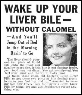 CARTER'S LITTLE LIVER PILLS LIFE 03/18/1940 p. 108