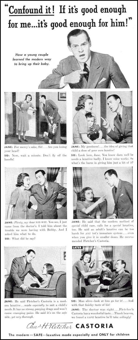 FLETCHER'S CASTORIA LIFE 02/20/1939 p. 63