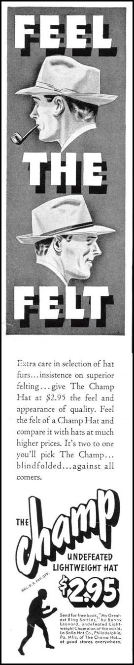 THE CHAMP HAT LIFE 03/18/1940 p. 13