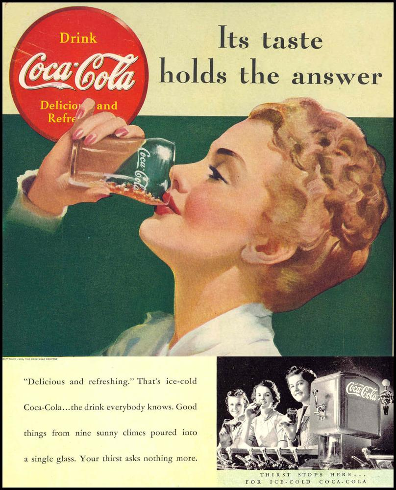 COCA-COLA LIFE 02/20/1939 BACK COVER