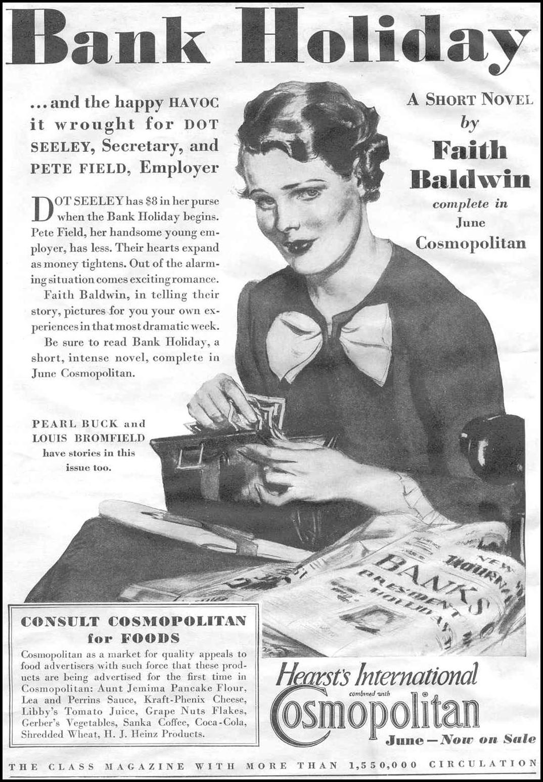 COSMOPOLITAN MAGAZINE GOOD HOUSEKEEPING 06/01/1933 p. 10