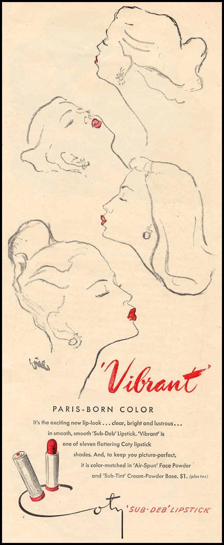 SUB-DEB LIPSTICK LIFE 10/27/1947 p. 155