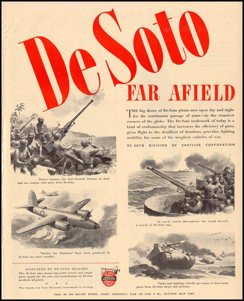 DE SOTO WAR PRODUCTS LIFE 12/20/1943 p. 59