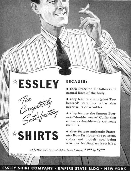 MEN`S SHIRTS LIFE 03/18/1940 p. 74