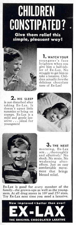 EX-LAX CHOCOLATED LAXATIVE LIFE 02/20/1939 p. 61