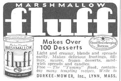 MARSHMALLOW FLUFF GOOD HOUSEKEEPING 03/01/1940 p. 202