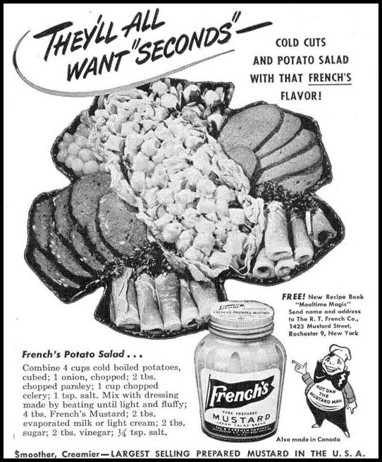 FRENCH'S PREPARED MUSTARD LIFE 10/27/1947 p. 139