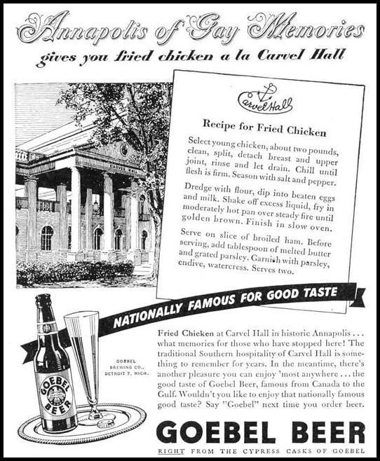 GOEBEL BEER LIFE 12/20/1943 p. 20