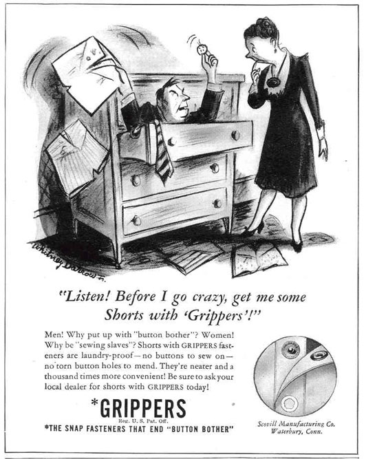 GRIPPER SNAP FASTENERS LIFE 03/18/1940 p. 74
