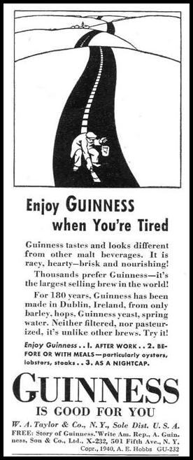 GUINNESS STOUT LIFE 03/18/1940 p. 108