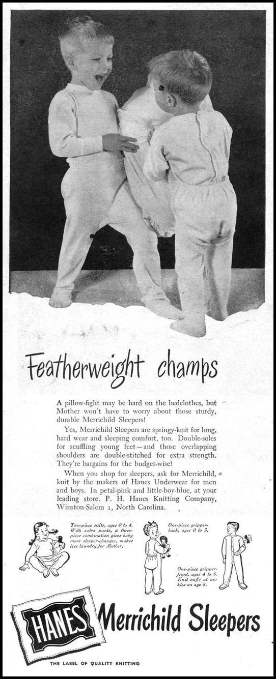 MERRICHILD SLEEPERS LIFE 10/27/1947 p. 62