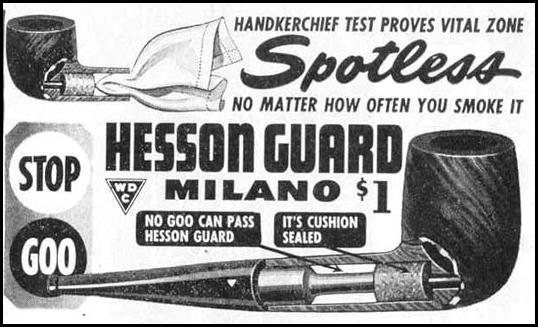 HESSON GUARD MILANO PIPE LIFE 12/20/1943 p. 108