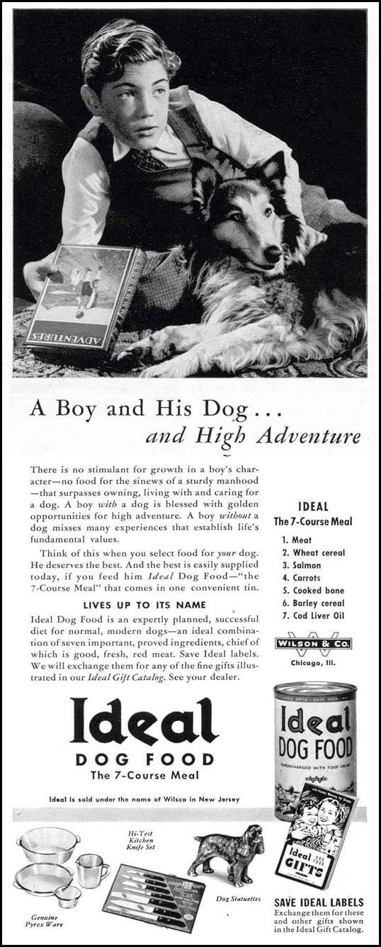 IDEAL DOG FOOD LIFE 03/18/1940 p. 98