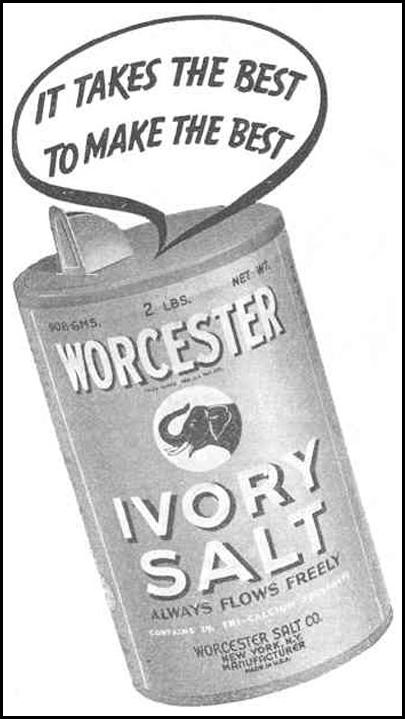 WORCESTER IVORY SALT GOOD HOUSEKEEPING 03/01/1940 p. 204