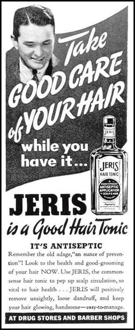 JERIS HAIR TONIC LIFE 03/18/1940 p. 18
