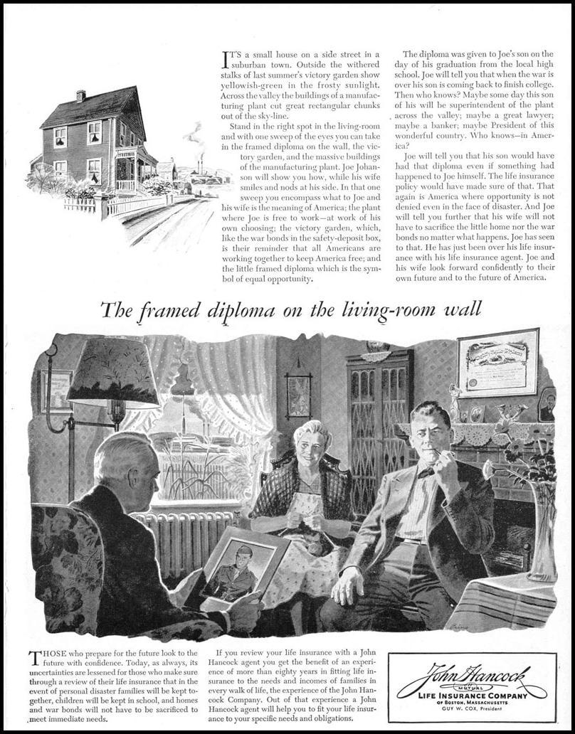 LIFE INSURANCE LIFE 12/20/1943 p. 67