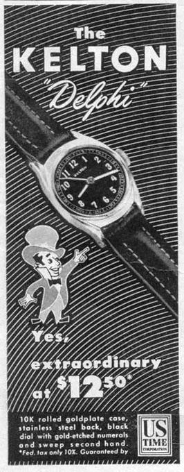 KELTON DELPHI WRISTWATCH LIFE 10/27/1947 p. 25