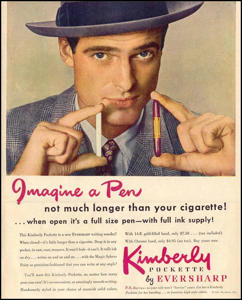 KIMBERLY POCKETTE PEN LIFE 10/27/1947 p. 28