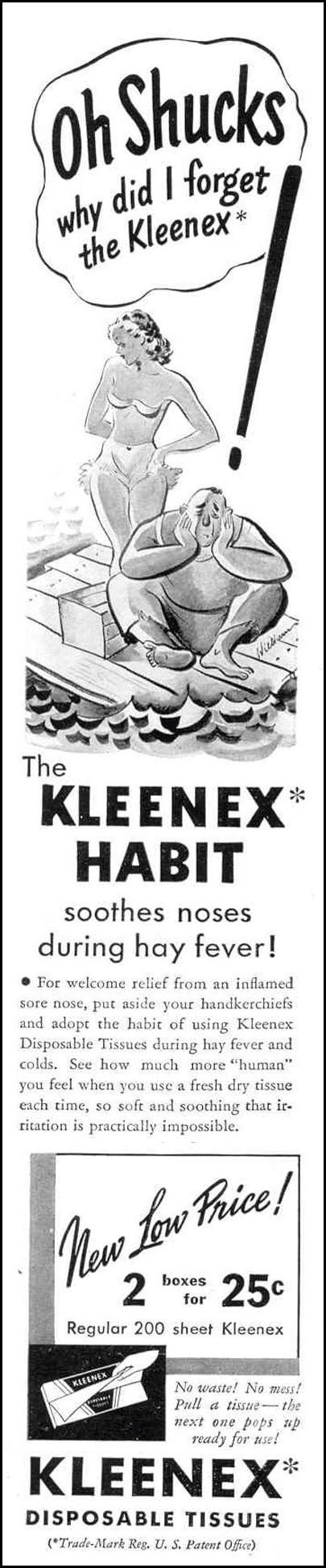 KLEENEX TISSUES LIFE 09/06/1937 p. 5