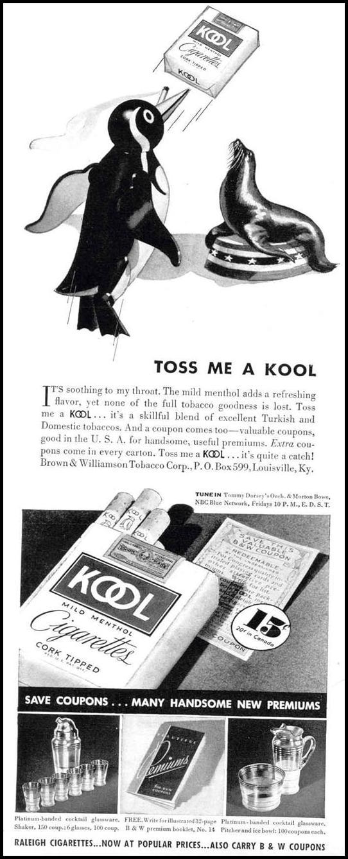 KOOL CIGARETTES LIFE 09/06/1937 p. 6
