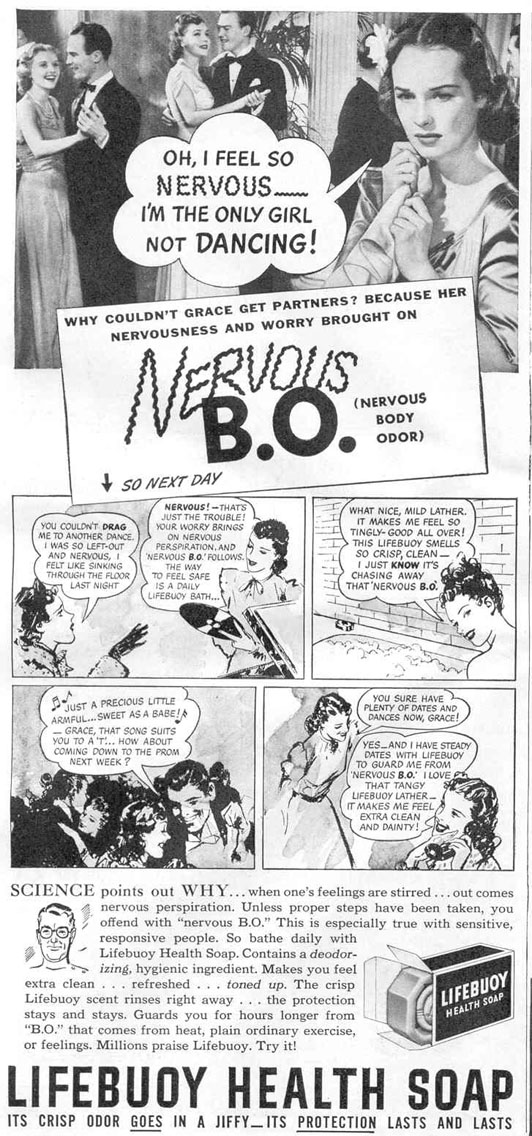 LIFEBUOY SOAP GOOD HOUSEKEEPING 03/01/1940 p. 136