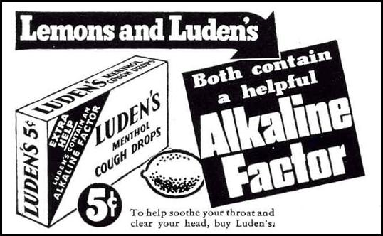 LUDEN'S COUGH DROPS LIFE 02/20/1939 p. 62