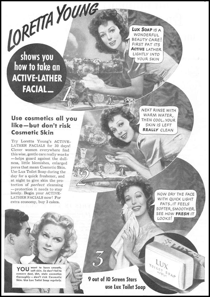 LUX SOAP GOOD HOUSEKEEPING 03/01/1940 p. 5