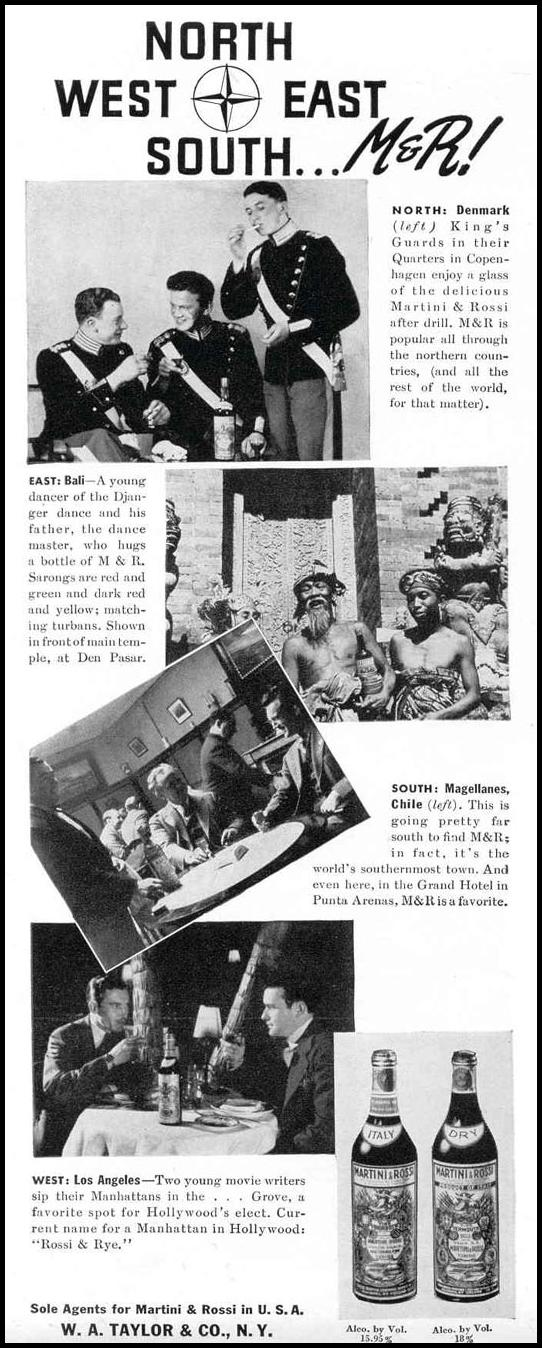 MARTINI AND ROSSI LIFE 09/06/1937 p. 74
