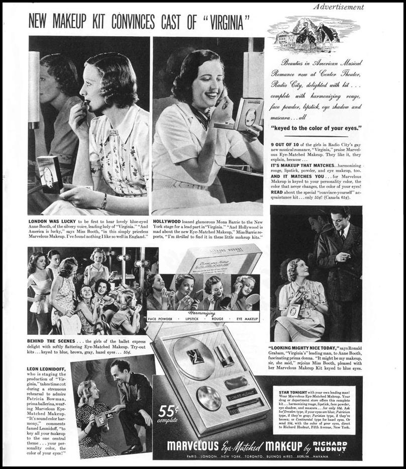 MARVELOUS EYE MATCHED MAKEUP LIFE 09/06/1937 p. 55