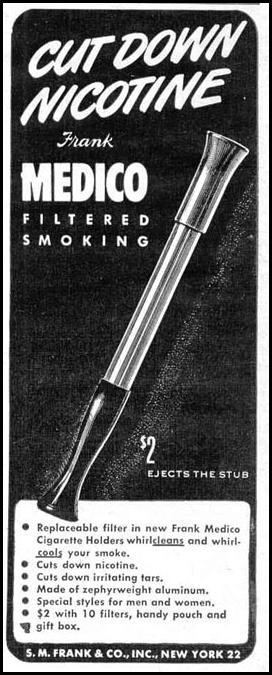 MEDICO CIGARETTE FILTER LIFE 10/27/1947 p. 142