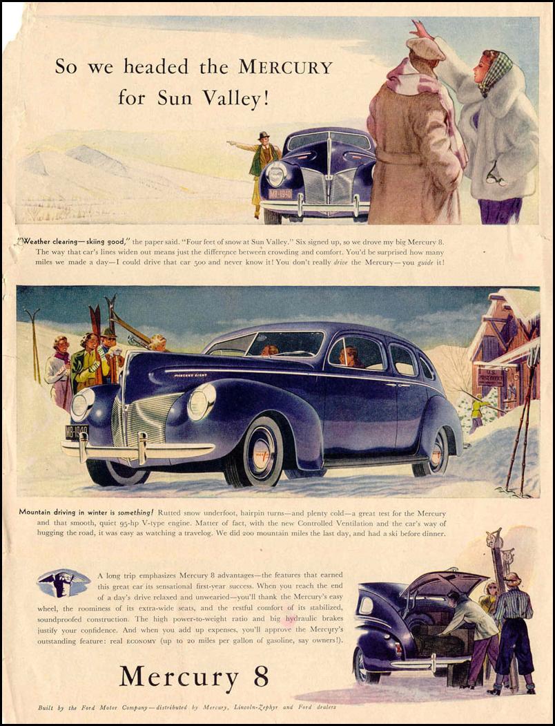 MERCURY AUTOMOBILES LIFE 10/27/1947