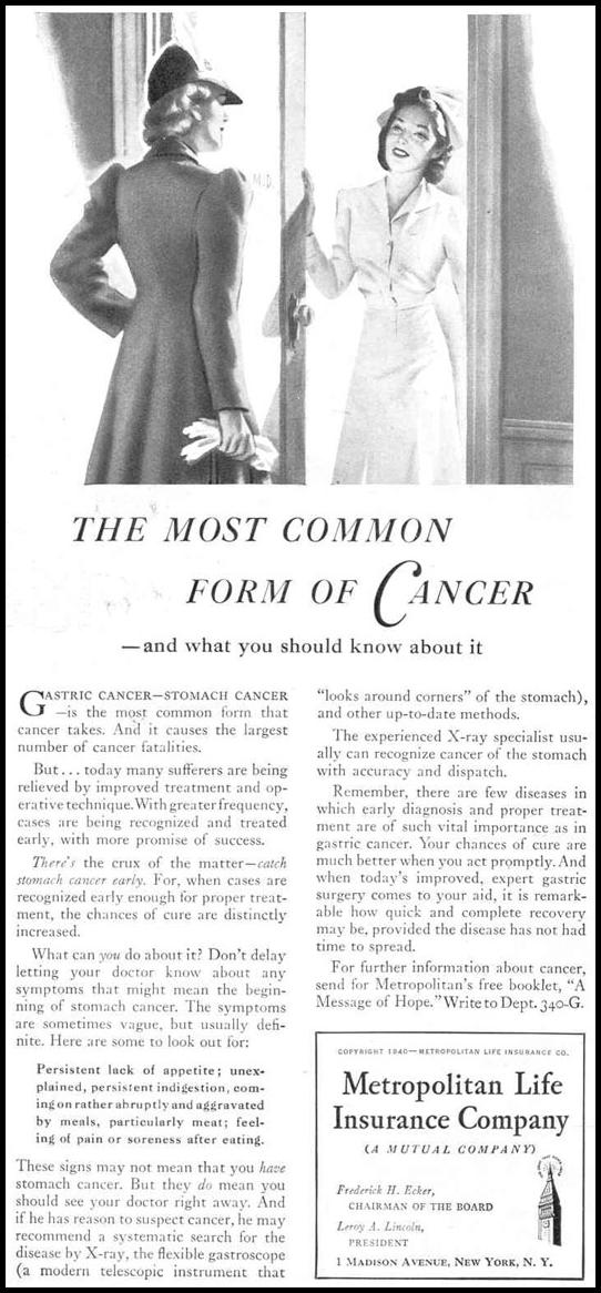 LIFE INSURANCE GOOD HOUSEKEEPING 03/01/1940 p. 84